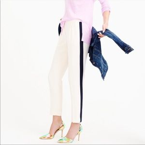 J. Crew chino tuxedo tailored cut pants 🖤